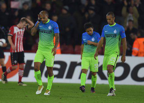 Southampton-Inter 2-1, Felipe Melo ©Getty Images
