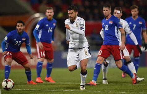 Candreva in azione con la Nazionale ©Getty Images