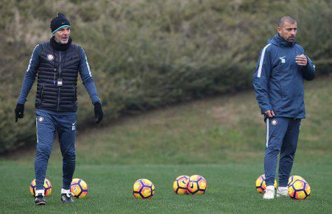 Inter, Pioli e Samuel alla Pinetina ©Getty Images
