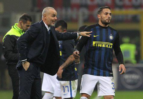 Inter, D'Ambrosio con Pioli (Getty Images)