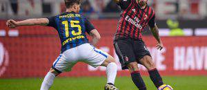 Suso nel derby (Getty Images)
