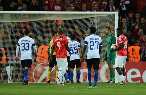 Europa League, Be'er Sheva-Inter 3-2 (Getty Images)