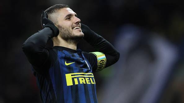 Icardi, doppietta contro la Fiorentina (Getty Images)