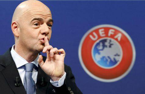 Infantino, presidente della FIFA ©Getty Images