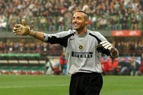 Fontana in un derby ai tempi dell'Inter (Inter.it)