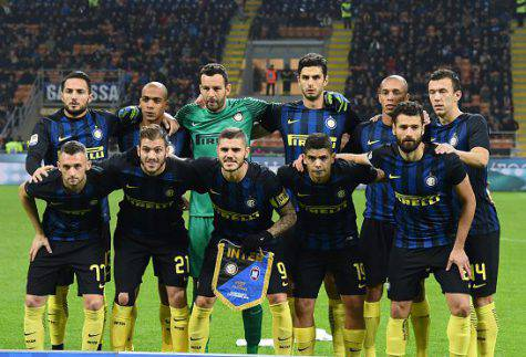 Inter-Crotone 3-0, la squadra nerazzurra (Getty Images)