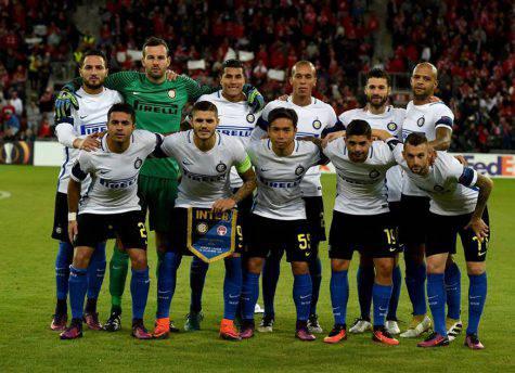 Be'er Sheva-Inter 3-2, la squadra nerazzurra (Inter.it)
