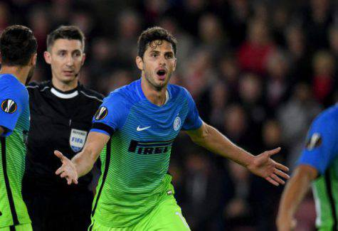 Southampton-Inter 2-1, Ranocchia - Inter.it