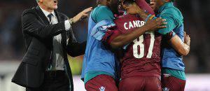 Pioli quando sbancò il San Paolo con la Lazio (Getty Images)