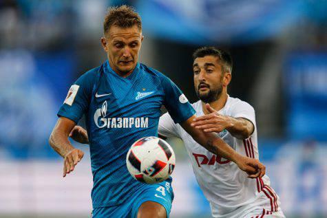 Criscito in azione con la maglia dello Zenit - Getty Images