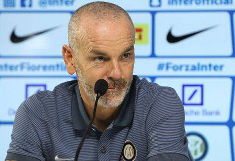 Pioli in conferenza stampa (Getty Images)