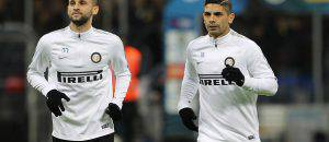 Inter, Brozovic e Banega (Getty Images)