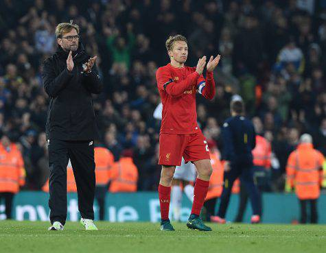 Lucas Leiva all'Inter? Klopp glissa: