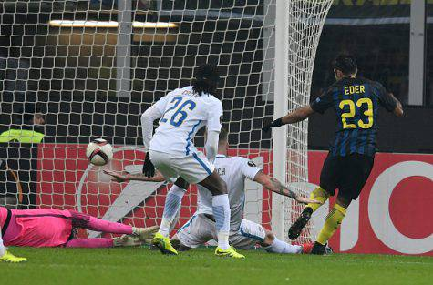 Inter-Sparta Praga 2-1, doppietta di Eder - Getty Images