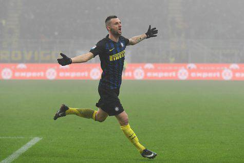 Inter-Genoa 2-0, doppietta di Brozovic - Getty Images)
