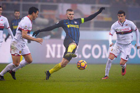 Icardi in azione - Getty Images