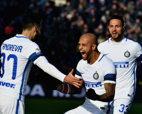 Candreva rovina il pranzo al Sassuolo: vince l'Inter