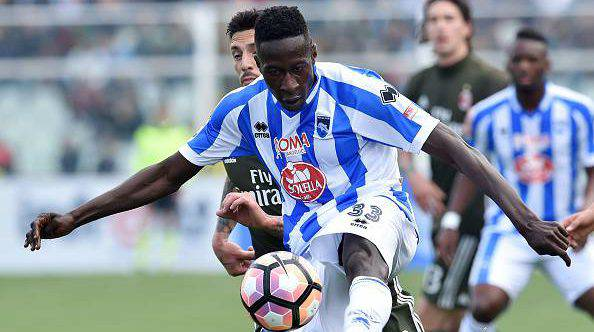 Calciomercato Udinese, colpo Coulibaly: resterà un anno a Pescara