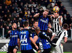 Inter-Juventus, Chiellini mancherà per infortunio