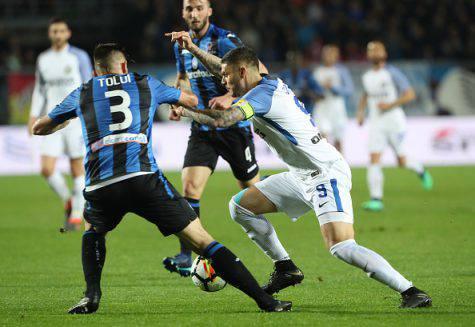 L'Inter non vince più: è 0-0 contro l'Atalanta