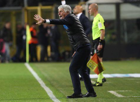 Atalanta-Inter, faccia a faccia Spalletti-de Roon a fine gara