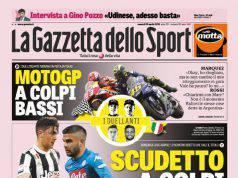 Gazzetta dello Sport: i titoli sull'Inter