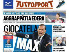 Tuttosport: i titoli sull'Inter