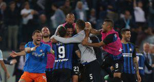 Le formazioni ufficiali di Lazio-Inter