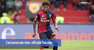 Calciomercato Inter, ufficiale Salcedo