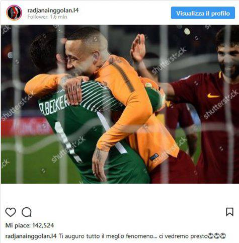 Inter Nainggolan Instagram