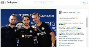 Instagram, Brozovic con Perisic e Vrsaljko: il trio matto dell'Inter