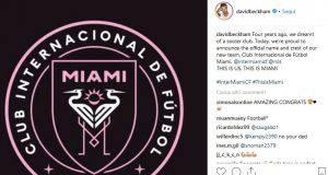 Instagram, Beckham annuncia la nascita dell'Inter Miami