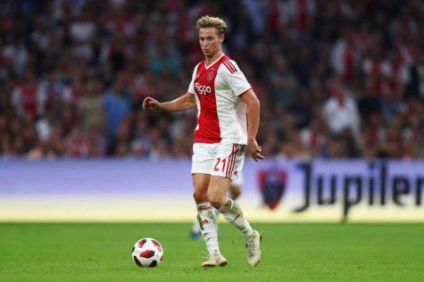 Calciomercato Inter De Jong Ajax Psg