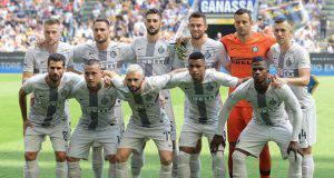 Parma Inter formazioni ufficiali