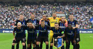 Inter Frosinone formazioni ufficiali