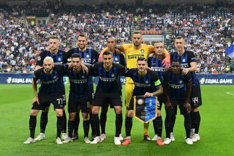 Chievo Inter formazioni ufficiali