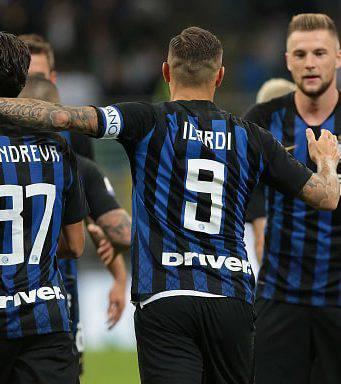 Le formazioni ufficiali di Spal-Inter