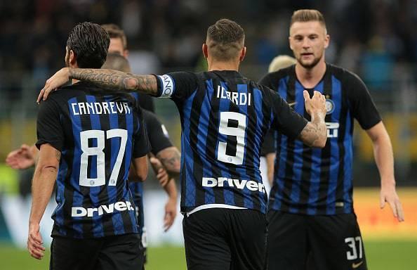 Le formazioni ufficiali di Inter-Cagliari