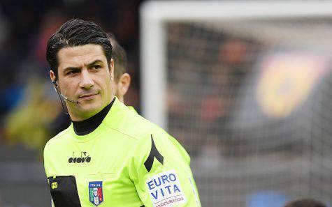 Mangiello arbitrerà Inter-Parma