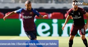 Calciomercato Inter, le condizioni per il ritorno di Rafinha