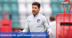 Calciomercato Inter, agente Simeone apre ai nerazzurri