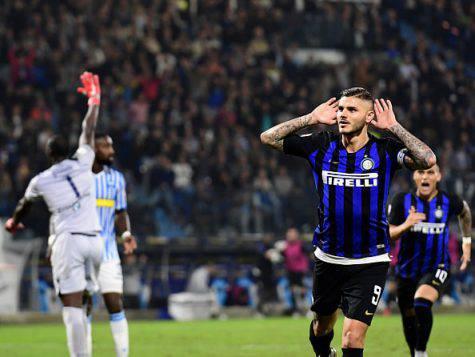 Mauro Icardi ha deciso Spal-Inter