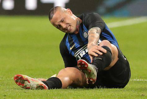 Inter-Milan, infortunio per Nainggolan