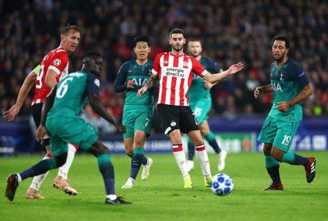 Champions, Psv-Tottenham finisce 2-2