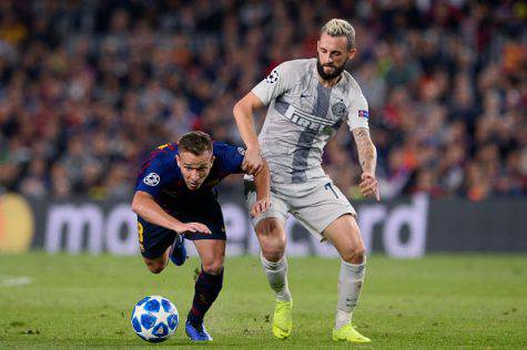 Inter, Brozovic epic al Camp Nou di Barcellona
