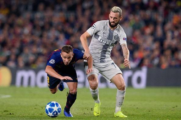 Inter, Brozovic epic al Camp Nou di Barcellona