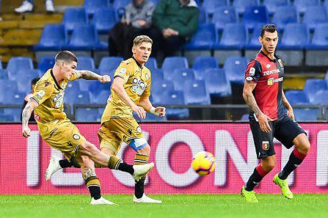 Calciomercato Inter, scout a Genoa-Udinese per De Paul