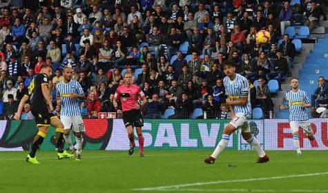 Spal-Frosinone, Pinamonti realizza il primo gol in serie A