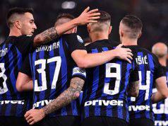 Atalanta Inter formazioni ufficiali