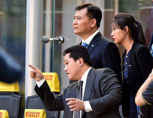 Inter, Thohir sta per cedere le sue quote a Suning